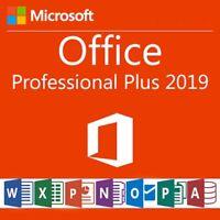 Microsoft Office 2019 Professional Plus Lizenzschlüssel / MS Office 2019 Pro Key
