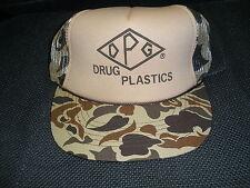 The Madhatter DPG Drug Plastics Trucker Hat/Cap Camo