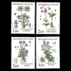 France 1983 - Flowers Plants - Sc 1870/3 MNH