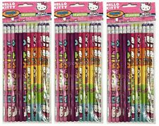 Hello Kitty Pencils School stationary Supplies 36pc