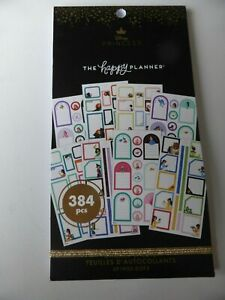 *NEW* The Happy Planner DISNEY PRINCESS Sticker Sheets 384 Pieces