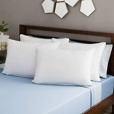 Pack of 4 Supper Bounce Back Pillows 100% Virgin Hollowfibre Filled Non-Allergic