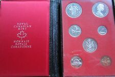 1971 Canada Proof Double Dollar Set (7 Coins Cent to Silver Dollar Mint Set)