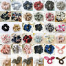Cute Girls Ponytail Bun Tie Scrunchies Hair Band Elastic Scrunchie Hair Ring