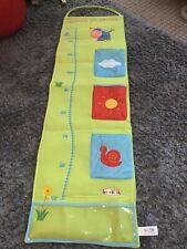 Hanging Childs grow chart Beanstalk growth chart pockets Green Nursery (B 256)*
