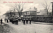 Brentwood. Military Funeral Leaving Warley Barracks # 1891 by Charles Martin.