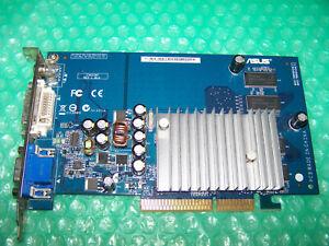 ASUS N6200/TD/256M GF6200 256MB AGP Video Card, Windows 7 Compatible