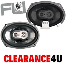 "Fli FI69 750 Watts a Pair Oval 3 Way 6 x 9"" Car & Van Door Parcel Shelf Speakers"
