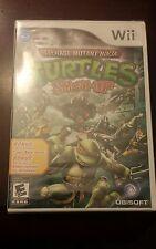 Teenage Mutant Ninja Turtles Smash-Up (Nintendo Wii, 2009) Brand New