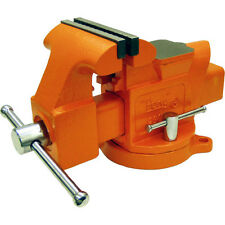 Pony 4-Inch Heavy-Duty Adjustable Workshop Home Bench Vise with Swivel Base-New