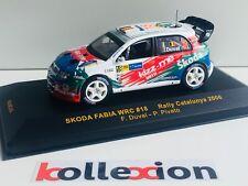 IXO RAM240 SKODA FABIA WRC 18 Rally Catalunya 2006 F. Duval - P. Pivato 1.43