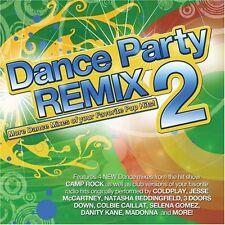 Dance Party Remixed 2 On Audio CD Album 2013 Brand New