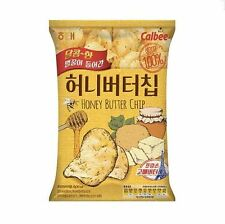 Haitai Honey Butter Chips Calbee 1 Pack(60g) Best Korean Potato Chips
