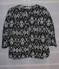 Peter Nygard Black White Dress Jacket Size 14 EC!