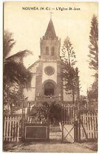 New Caledonia Noumea  L'Eglise St-Jean Church Postcard