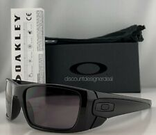 Oakley Fuel Cell Sunglasses OO9096-01 Shiny Black Warm Grey Lenses 60mm Large