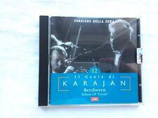 cd audio il genio di karajan N° 12 beethoven sinfonia 9 corale