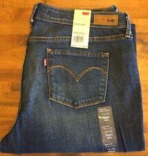 LEVI'S CURVE ID SLIGHT CURVE CLASSIC BOOT CUT LEG Jeans - Women's 14 Long NWT