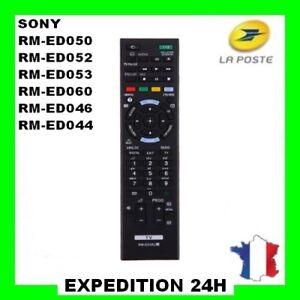 Télécommande de remplacement pour SONY RM-ED052, RM-ED050,RM-ED053, RM-ED060...