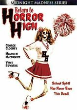 Return to Horror High 0014381731521 With George Clooney DVD Region 1