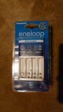 Panasonic Eneloop Smart&Quick battery CHARGER BQ-CC51E EU plug FREE UK ADAPTER