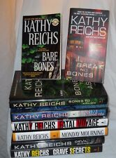 Kathy Reichs 8 Book Lot Temperance Brennan Basis For TV Series Bones Mystery