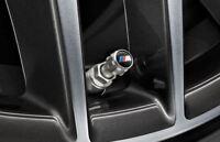 Genuine BMW Aluminium Protect TPMS Tyre Valve Caps M Logo 36122447402