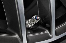 Genuine BMW in alluminio protegge Tpms Pneumatico Valvola Caps M Logo 36122447402