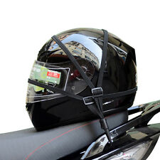 Motorcycle Bike Adjustable Cargo Helmet Luggage Net Holder With Buckle Chic