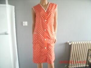 blouse nylon  nylon  kittel nylon overall  VALENTINA   T44/46