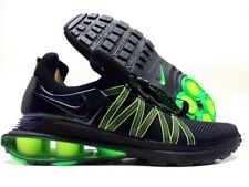 NIKE SHOX GRAVITY BLACK/BLACK-GORGE GREEN SIZE MEN'S 10.5 [AR1999-003]
