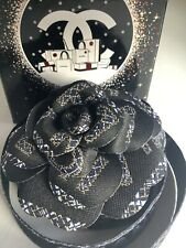 Authentic Chanel Camellia Flower Accessory Ribbon 2019 / 2020 Brand New Boxed