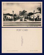 US CALIFORNIA AZUSA CITY HALL CIRCA 1940 PUBLISHED BY DOUGLAS CAULKINS, POMONA