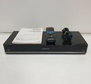 PANASONIC DMR-BWT750 3D Blu-Ray Recorder Player 500GB HDD Twin Tuner w/ Remote