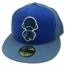 AUTHENTIC Kidrobot New Era 59FIFTY Fitted Cap Blue Munny Men's Hat Size 7 1/4