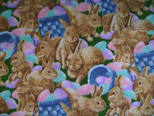 Easter Bunny Chefs Apron Handmade Seasonal Holiday Gift Jr.Deb Designs