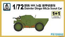 S-model 1/72 PS720052 Daimler Dingo Mk.Ia Scout Car (1+1)