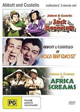 Africa Screams / Hold that Ghost / Jack and the Beanstalk (Abbott and Costello)
