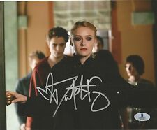 DAKOTA FANNING AUTOGRAPHED SIGNED TWILIGHT NEW MOON JANE BAS COA 8X10 PHOTO