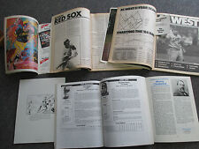 Lot of 6 Vintage BASEBALL Magazines: Sporting News, SABR, Hall of Fame, etc