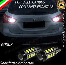 COPPIA LAMPADE RETROMARCIA 13 LED T15 W16W CANBUS SUZUKI SX4 S-CROSS