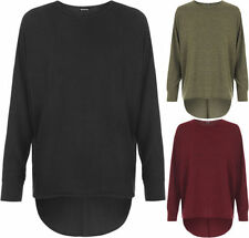 Polyester Long Sleeve Machine Washable Solid T-Shirts for Women