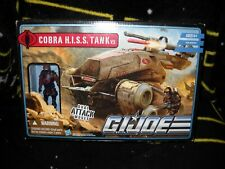 G.I. JOE PURSUIT OF COBRA DESERT BATTLE COBRA H.I.S.S. TANK V.5