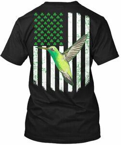 St Patrick Day Gift Hummingbird Tee T-Shirt