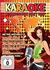 Karaoke - Internationale Party Hits DVD