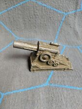 Vintage Metal Toy Cannon Spring Loaded Made In USA