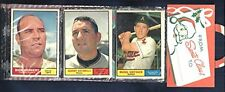 1961 topps baseball lot- $1.50 ea-most VG or EX- you pick #s- 5 12 15 17 to 502.