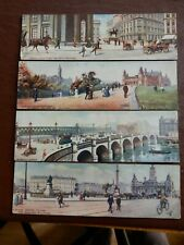 More details for glasgow  panoramic postcards  edwardian tuck  x4  (four as a lot )   p10