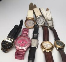 8 Guess Watches Waterpro Steel All Styles Genuine Leather Watch Lot