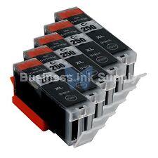 5 PIGMENT BLACK Canon PGI-250XL Compatible Ink Cartridge PGI-250 PGI-250XL BK